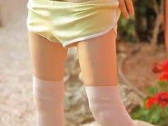19yo Petite Skinny Doll Masturbate