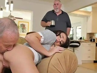 Milf Teen Orgy Riding The Old Wood