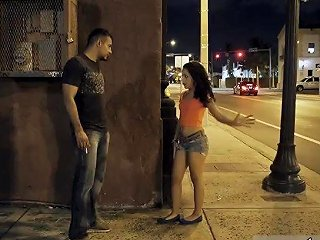 Amateur Mexican Rough Fuck Rigid And Roughly In A Scary Dark Alley While
