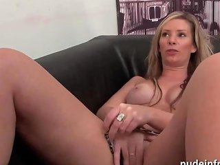 French Milf Rough Casting