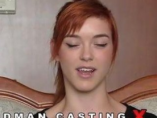 Great Casting With A Redhead Beauty