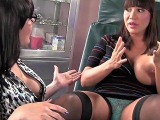 Daniella Foxx In A Wonderful Ffm Threesome With A Gynecol Any Porn