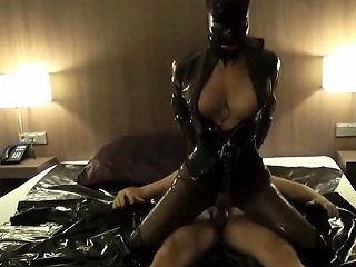 German Latex Mistress In Rough Anal Fuck And Creampie In Ass Nuvid