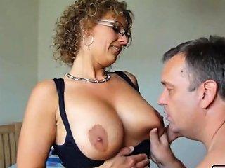 Sweet Danish Amateur Milf Sucking And Fucking