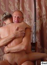 Horny old gay man fucks a hot young guy�s skinny ass really hard