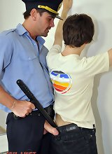 Hot-assed troublemaker gets lawful anal punishment