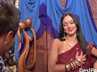 Indian Pornstar With...