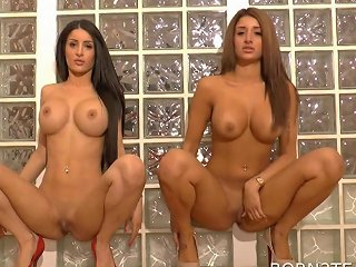 Indian Twins Naked Session