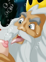 Triton Licks Ariel`s Titties And Gets Her Pussy Dripping She Welcomes Him Inside Her.^cartoon Valley Cartoon Porn Sex XXX Cartoons Toon Toons Drawn Dr