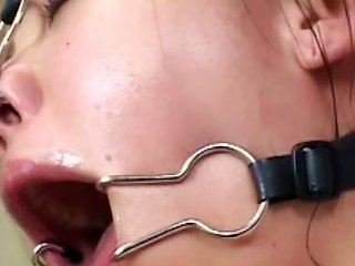 Wild Japanese In Bondage Bukkake Orgy