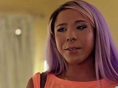 Sexy Tranny Babe Mara Nova Helps Teen Kory Houston To Get Out To His Pain