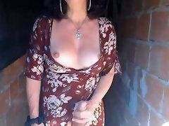 Mature Crossdresser Fucks And Cums