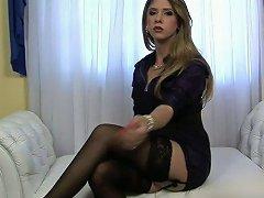 Slim And Pretty Ladyman Nicole Ribeiro Would Love To Show You Her Goodies