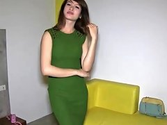 Fun With A Thai Ladyboy And Her Cum Covered Pretty Anus