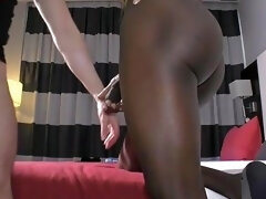 A Black Goddess Using Giant Tool