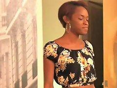 Ebony Tgirl Spitroasted In Sensual Threesome Hd Tranny