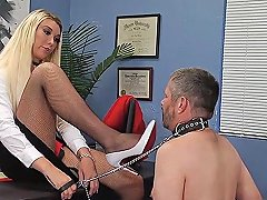 Hot Shemale Spanking With Cumshot Feature