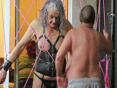 Ronni Gets Spider Webbed By Master R Part 1 Tranny Porn Ec